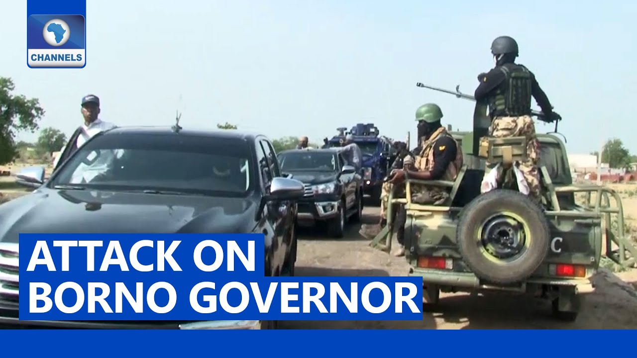 FULL VIDEO: Zulum's Convoy Under Attack, Borno Governor Blames Military