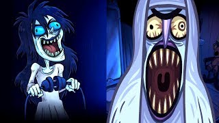 Troll Face Quest Horror Vs Troll Face Quest Horror 2 🎃Halloween Special🎃 All Levels Walkthough