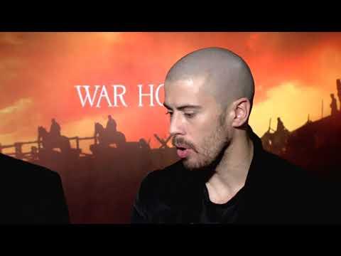 Tom Hiddleston, Toby Kebbell, Patrick Kennedy War Horse