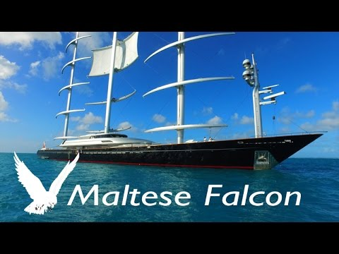 Super Yacht MALTESE FALCON ~ LARGEST SAILBOAT ~ WeBeYachting com ~