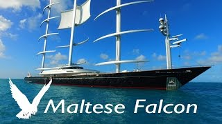 Super Yacht MALTESE FALCON ~ LARGEST SAILBOAT ~ WeBeYachting.com ~