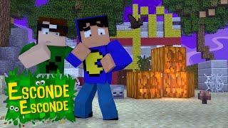 Minecraft: MCDONALDS ASSOMBRADO! (Esconde-Esconde)