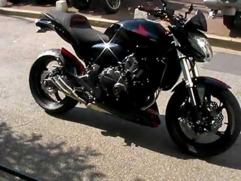 Hornet 600 Red Black Youtube