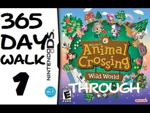 (Animal Crossing: Wild World) 365 Day Longplay (1 - Day 1)