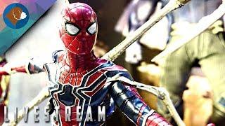 SPIDER-MAN PS4 Walkthrough Gameplay Live Stream Part #3
