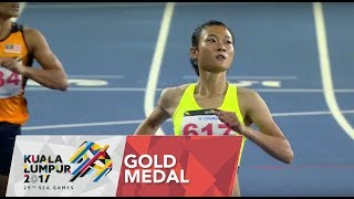 Athletics Women's 100m Finals | 29th SEA Games 2017