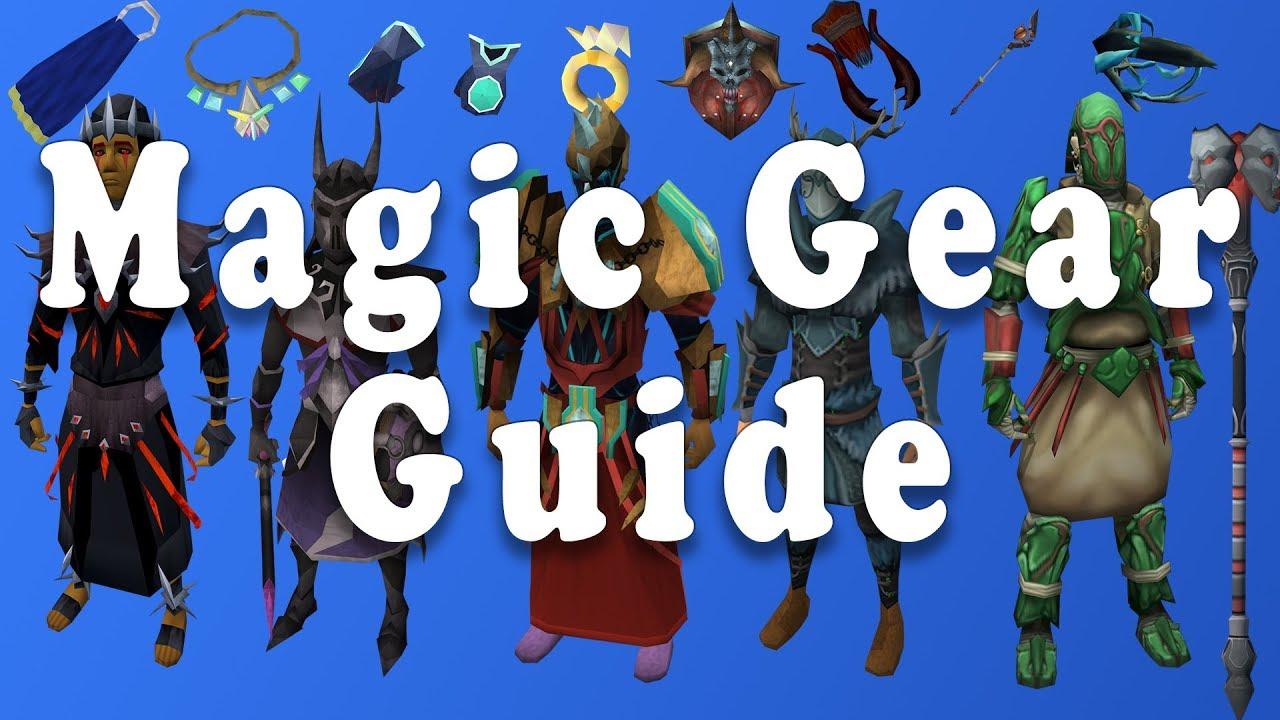 Comprehensive Magic Gearing Guide Runescape 3