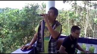 """SERAUT WAJAH"" Ebiet G. Ade cover, (Vocal=Narco X Factor, Keyboard=Imam Herman)"
