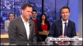 Peter Thiel  Légende de la Silicon Valley dans le supplément Canal + du 28 02 2016