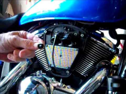 Kawasaki Vulcan Oil Change Filter