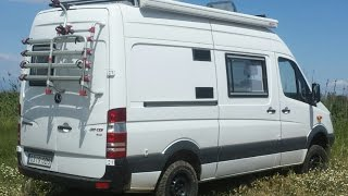 07 Camper Conversion Sprinter 4x4. 311 CDI. Low Range(, 2016-05-17T04:47:40.000Z)