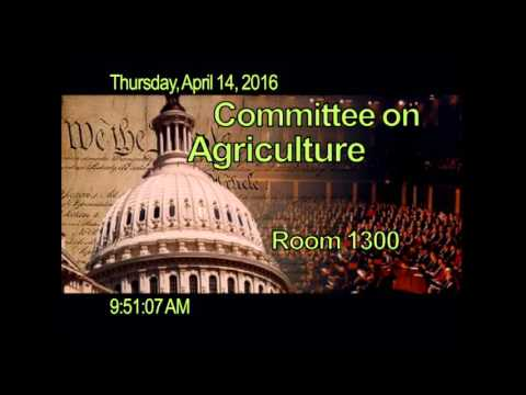 Subcommittee – Public Hearing RE: Focus on the Farm Economy