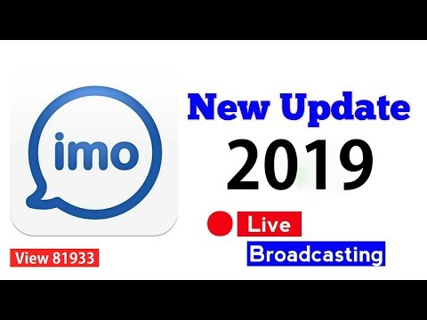 Imo New Update 2018- Imo Live Broadcasting - YouTube