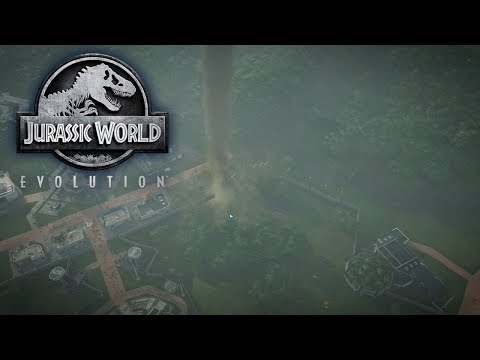 Jurassic World Evolution - Project Noah's Ark - Tornado Disaster! #3
