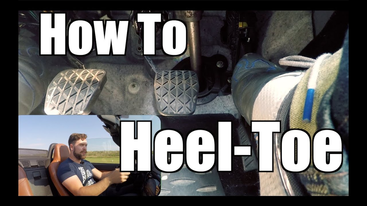 How to HeelToe Downshift at the Track  Track Tips with TH