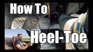How to Heel-Toe Downshift at the Track // Track Tips with T.H.