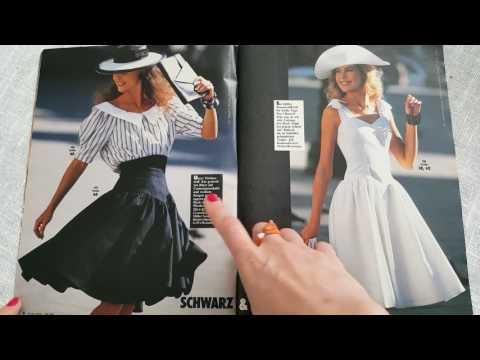 Немецкая #Burda 1988, май Часть 1 #Тренды 80 годов опять в моде.