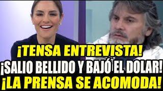 ¡TENSION! MAVILA HUERTAS CUADR4 A JORGE SPELUCIN DE PERU LIBRE TRAS DEFENDER A CERRON