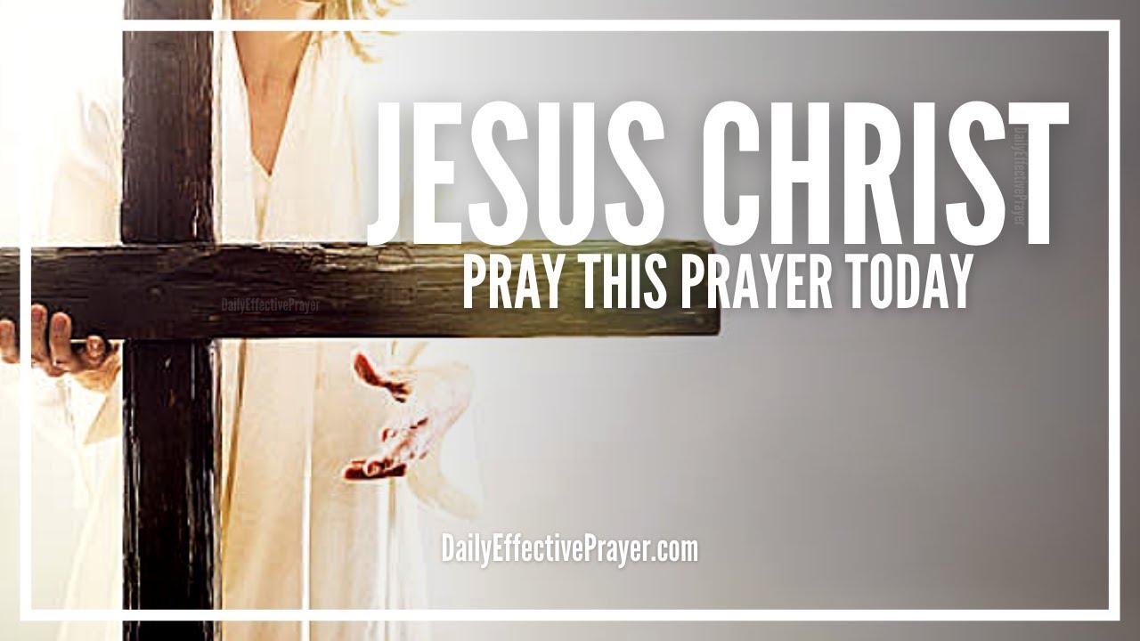 Prayer For Jesus Christ | Simple Christian Prayer For Salvation
