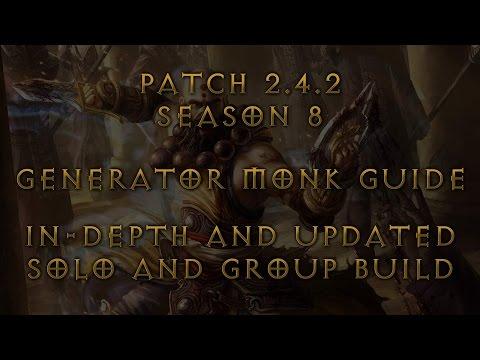 2.4.2 In - Depth Generator Monk Guide Season 8 by Silaqt World #2 Monk