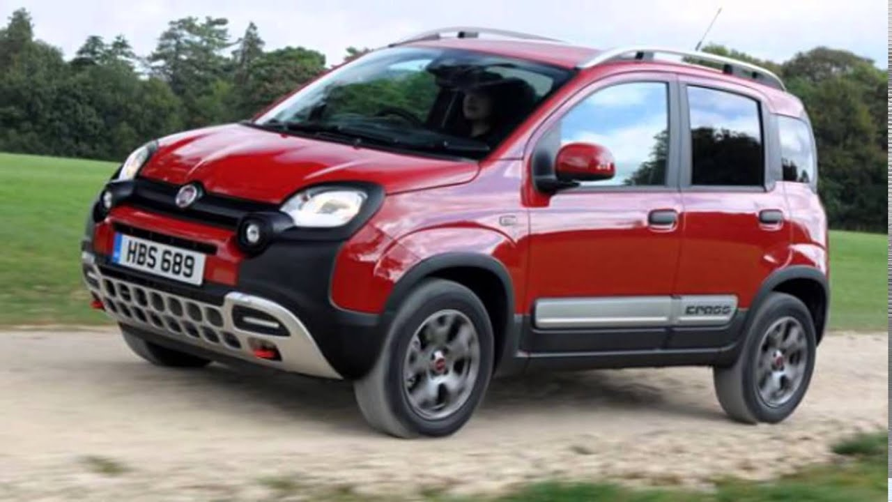 2016 fiat panda cross canadian red youtube. Black Bedroom Furniture Sets. Home Design Ideas