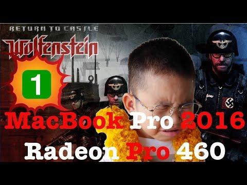 My Failed Attempts Return to Castle Wolfenstein MacBook Pro Radeon 460. Pt1