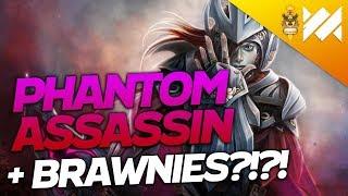Phantom Assassin w/ Brawnies?!?! | Dota Underlords | Savjz