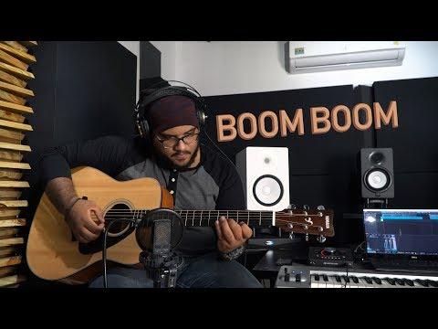Daddy Yankee - Boom Boom ft. RedOne (Guitar Cover) Improvisación