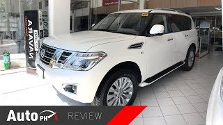 2019 Nissan Patrol Royale - Exterior & Interior Review (Philippines)