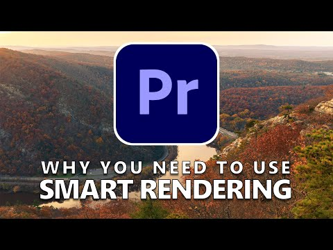 The SECRET To Exporting Much Faster In Premiere Pro   Smart Rendering