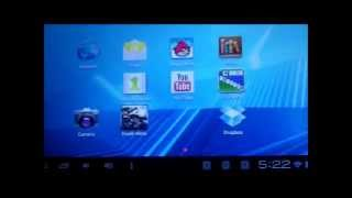 """D2 7"""" Android 4.0 Tablet Review (BigLots) - First Impressions"""