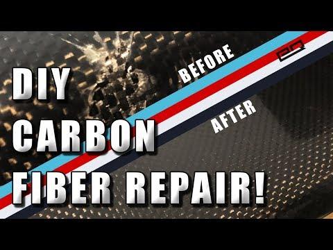 How To Repair Carbon Fiber Cracks