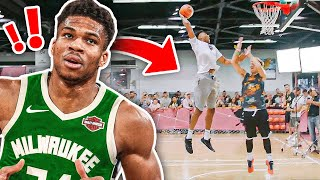PLAYING BASKETBALL WITH NBA MVP GIANNIS ANTETOKOUNMPO
