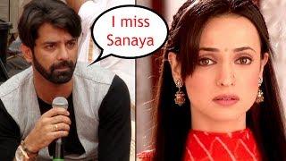 Barun Sobti MISSES Sanaya Irani while shooting for Iss Pyaar Ko Kya Naam Doon 3