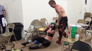 Repeat youtube video Christina Von Eerie vs. Buxx Belmar [Preview #2] - Beyond Wrestling - Intergender Mixed Women's