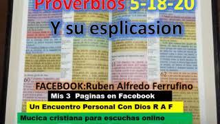Proverbios 5 18 20  Viene Con la Explicación de los Versículos