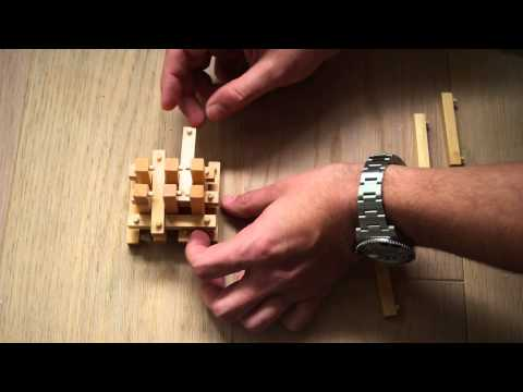 Intelligence Wooden 3D IQ Puzzle