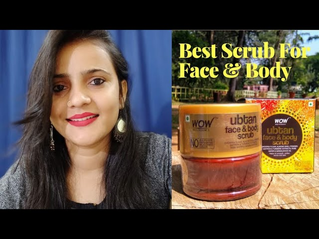 Wow Skin Science Ubtan Face & Body Scrub Review l Tiny Makeup Update