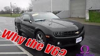 Why I bought a V6 Camaro! | buying a RS Camaro