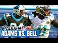 Madden 17 - WR Lance Adams vs CB Nate Bell   MrHurriicane Franchise Showdown