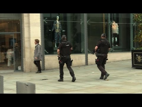 Armed police patrol streets of Manchester