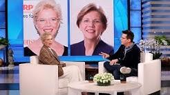Annette Bening on Her Similarity to Senator Elizabeth Warren