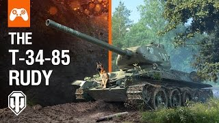 Introducing the T-34-85 Rudy Bundle with the Szarik Dog Crew - World of Tanks