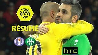 Toulouse FC - AS Saint-Etienne (0-3)  - Résumé - (TFC - ASSE) / 2016-17