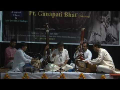 Chakorange Chandramana ( ಚಕೋರಂಗೆ ಚಂದ್ರಮನ ) -- Basavanna Vachana -- Pt Ganapati Bhat Hasanagi