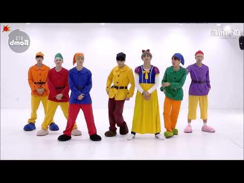 BTS 'GOGO' Mirrored Dance Practice Halloween