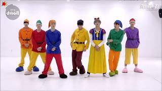 BTS GOGO Mirrored Dance Practice Halloween