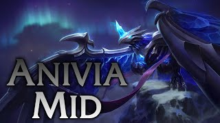 League of Legends | Blackfrost Anivia Mid #2 - Full Game Commentary