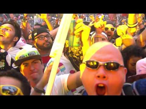 Showtek LIVE at TomorrowWorld 2015