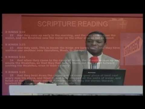 STRATEGIZING GOD, Pastor N. Ngwenya; at Spoken Word Ministry, Harare